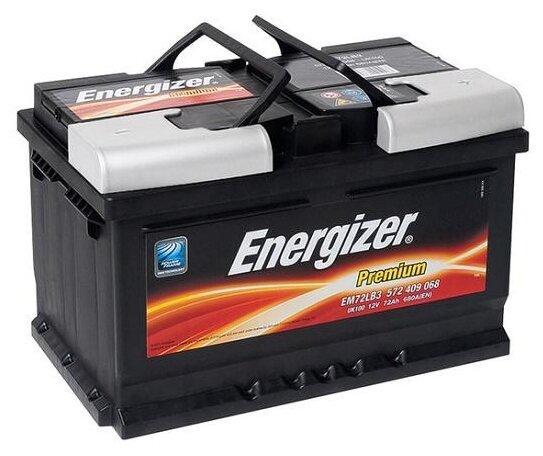 Автомобильный аккумулятор Energizer Premium EM7... — купить по выгодной цене на Яндекс.Маркете