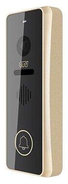 Вызывная (звонковая) панель на дверь CTV D4001AHD шампань