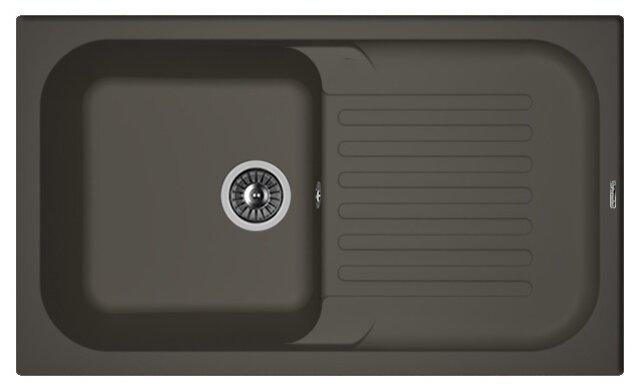 Врезная кухонная мойка FLORENTINA Арона-860 FS 86х51см искусственный гранит