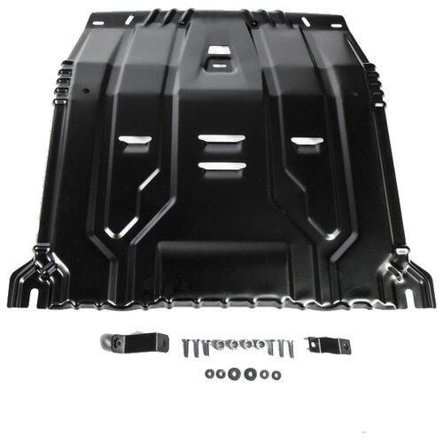 Защита картера двигателя и коробки передач RIVAL 111.2375.1 для Hyundai, Kia защита картера двигателя и коробки передач rival 333 2375 1 для hyundai kia