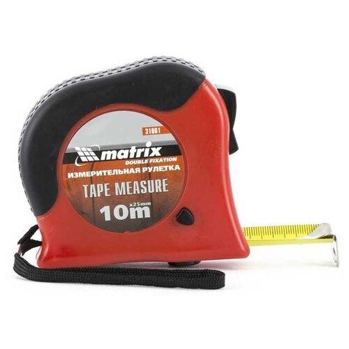 Измерительная рулетка matrix Double fixation 31061 25 мм x 10 м