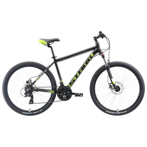 цена на Горный (MTB) велосипед STARK Indy 26.2 HD (2019) черный/зеленый/белый 20 (требует финальной сборки)