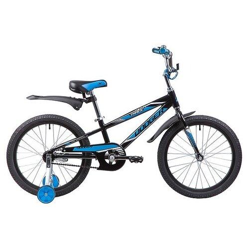 Фото - Детский велосипед Novatrack Dodger 20 (2019) черный (требует финальной сборки) детский велосипед novatrack urban 20 2019 синий требует финальной сборки
