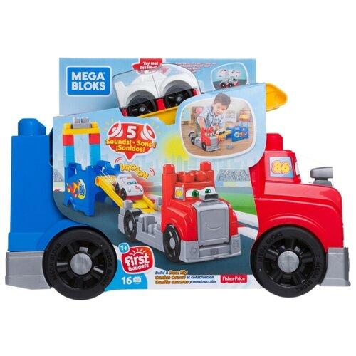 Купить Конструктор Mega Bloks First Builders FVJ01 Большая машинка для гонок, Конструкторы
