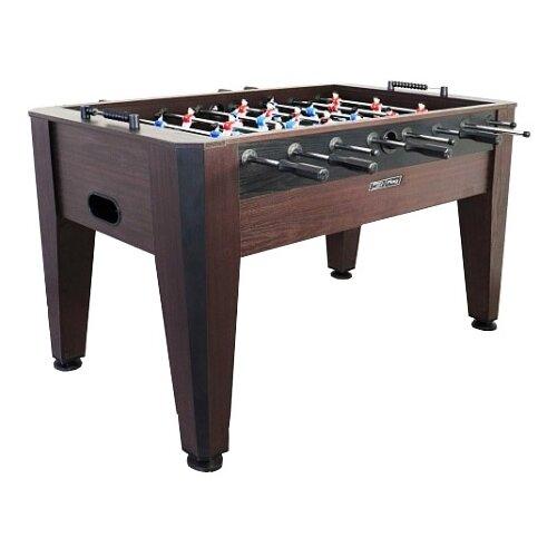 Игровой стол для футбола Start Line Master коричневый