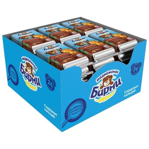 Пирожное Медвежонок Барни с шоколадом 720 г пирожное медвежонок барни duo со вкусом ореха и шоколада 150 г