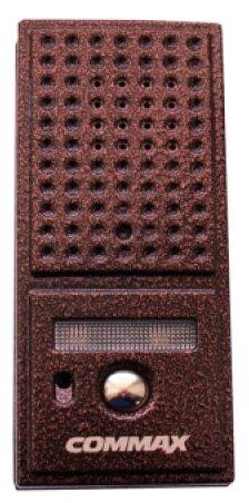 Вызывная (звонковая) панель на дверь COMMAX DRC-4CPN2 коричневый