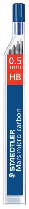 Staedtler Грифели для механических карандашей Mars micro HB, 0.5 мм, 12 шт.