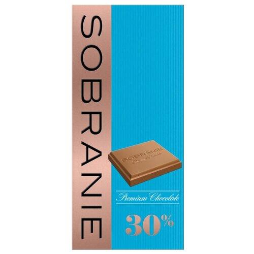 шоколад sobranie горький с апельсином и орехами 72% какао 90 г Шоколад SOBRANIE молочный 30% какао, 90 г