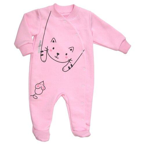 Купить Комбинезон СовёнокЯ размер 52-80, розовый, Комбинезоны