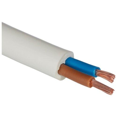 Провод ПВС 2х2.5 кв. мм (20 м) Рэмз ГОСТ белый