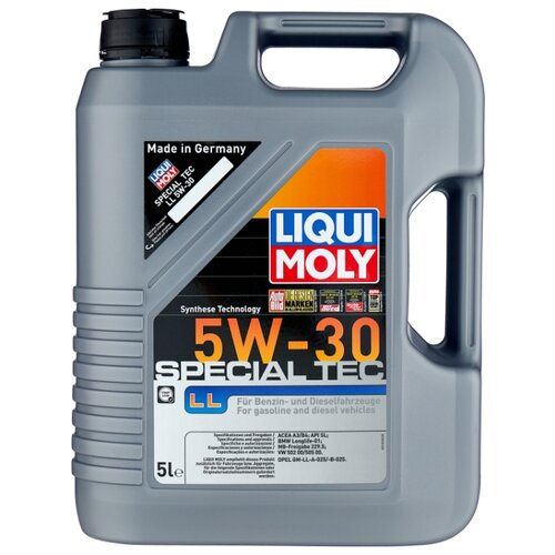 цена на Моторное масло LIQUI MOLY Special Tec LL 5W-30 5 л