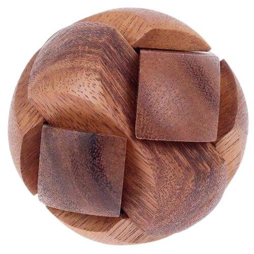 цена на Головоломка Sima Toys Шар (1487824) коричневый