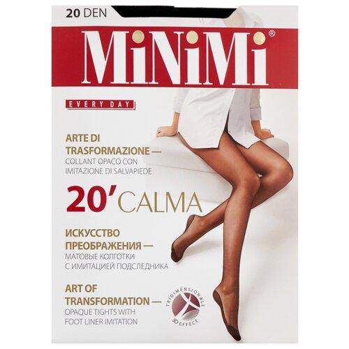Колготки MiNiMi Calma, 20 den, размер 4-L, nero (черный) колготки minimi calma 20 den размер 5 xl nero черный