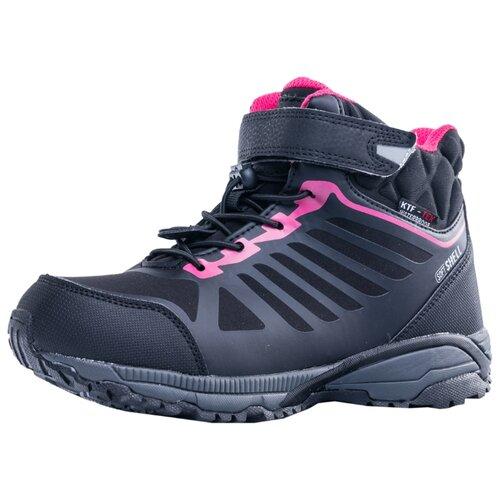 Ботинки КОТОФЕЙ размер 40, черный/фуксия ботинки t taccardi размер 32 черный