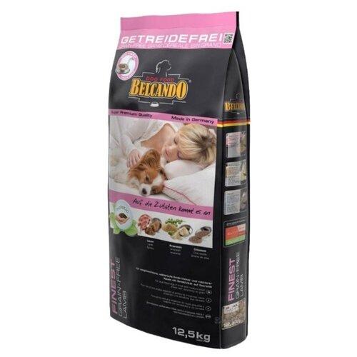 Корм для собак Belcando Finest GF Lamb для собак мелких и средних пород чувствительных к зерну (12.5 кг)