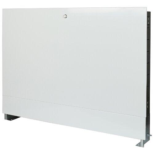 Коллекторный шкаф встраиваемый STOUT ШРВ-4 SCC-0002-001112 белый шкаф распределительный stout встроенный 1 3 выхода шрв 0 670х125х404 мм scc 0002 000013