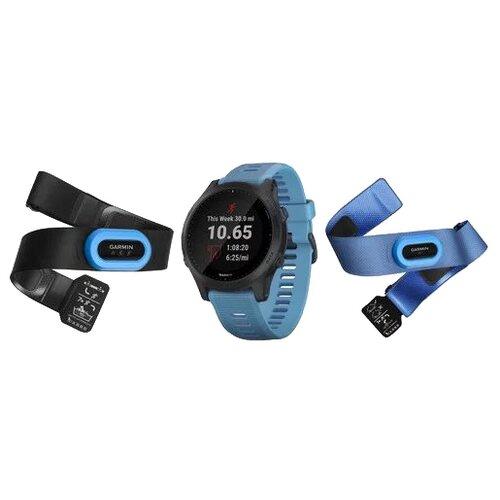 Часы Garmin Forerunner 945 комплект HRM синий