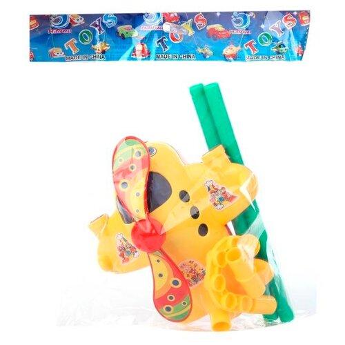 Каталка-игрушка S+S Toys Вертолёт (320) желтый likeu s no6 желтый