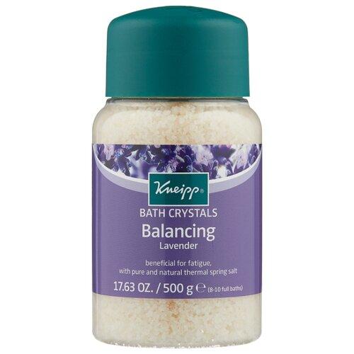 Kneipp Соль для ванн Баланс с лавандой, 500 г недорого