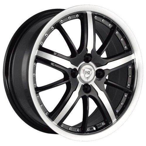 Фото - Колесный диск NZ Wheels SH663 6.5x16/5x115 D70.1 ET41 BKFPL колесный диск nz wheels sh663 7x17 5x110 d65 1 et39 bkfpl