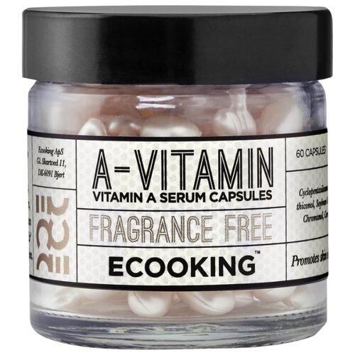 Сыворотка Ecooking с витамином А 60 капсул