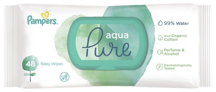 Влажные салфетки Pampers Aqua Pure