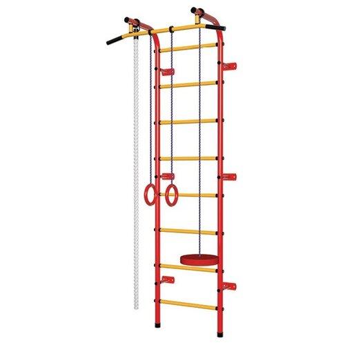Купить Шведская стенка Пионер С1Р, красный/желтый, Игровые и спортивные комплексы и горки