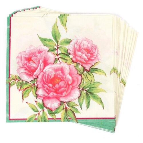 Набор салфеток для декупажа Арт Узор TBY-318, 33х33 см