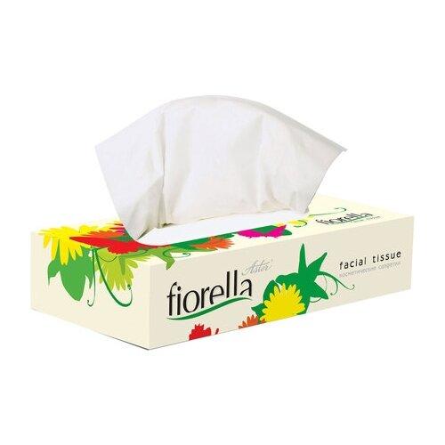 Салфетки косметические Fiorella, 2-слойные, 100 штук брюки fiorella rubino fiorella rubino fi013ewbeeg7