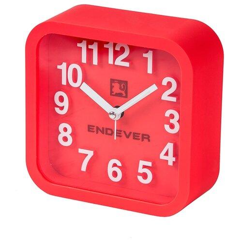 Часы настольные ENDEVER RealTime-14/15 красный