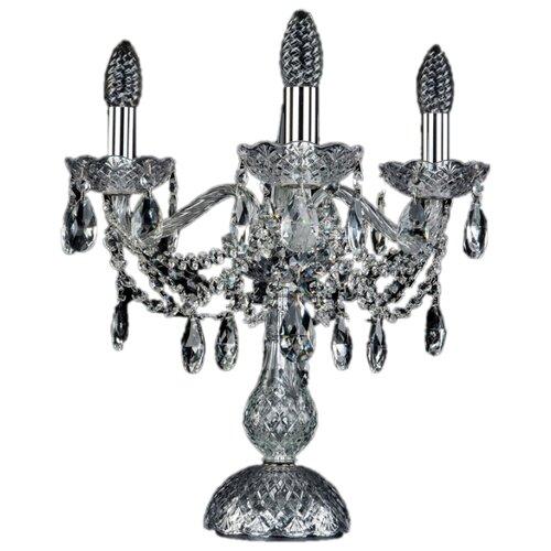 Настольная лампа Bohemia Art Classic 12.25.4.141-37.CR.SP, 160 Вт