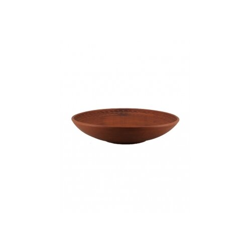 Гжельская Гончарня Блюдце Восточное 12 см коричневый