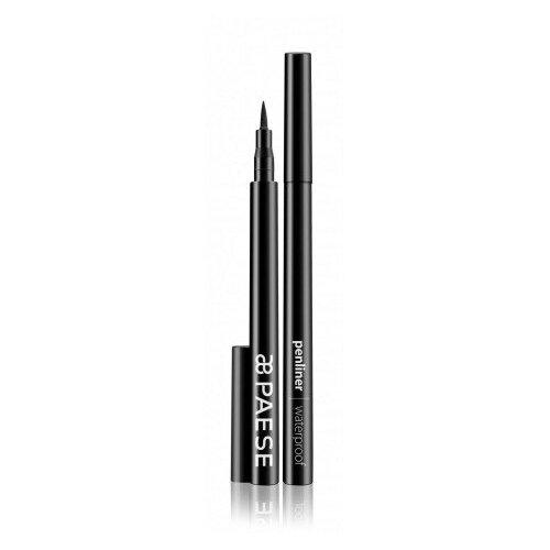 PAESE Подводка-фломастер для глаз Penliner, оттенок черный paese карандаш для глаз waterproof
