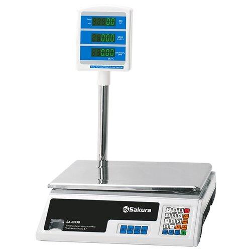 Весы торговые Sakura SA-6079D Professional