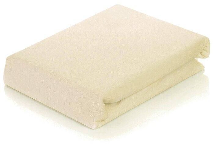 Простыня АльВиТек сатин на резинке 160 х 200 см