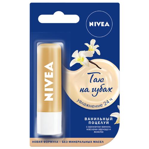 Nivea Бальзам для губ Ванильный поцелуй бальзам для губ аква забота nivea бальзам для губ аква забота