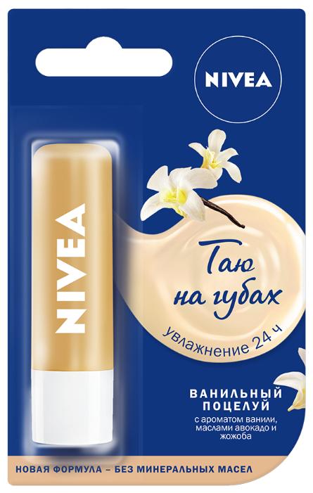Nivea Бальзам для губ Ванильный поцелуй