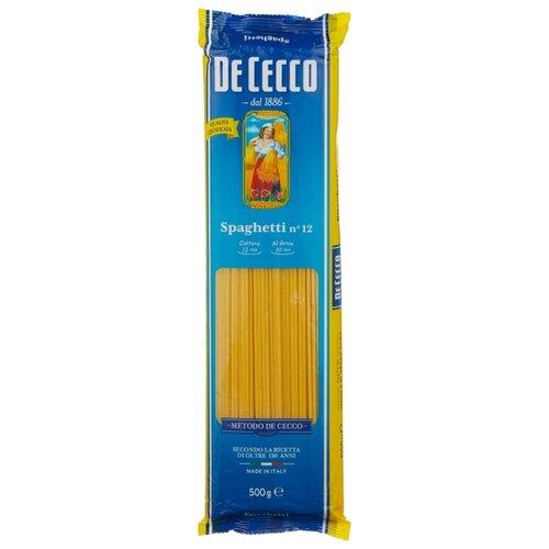 De Cecco Макароны Spaghetti n° 12, 500 г