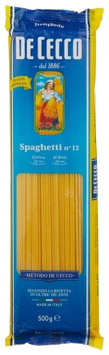 Макароны DeCecco Spaghetini №12 500г