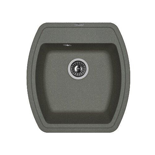 Врезная кухонная мойка 48 см FLORENTINA Нире-480 FG 20.190.B0480.102 черный florentina мойка кухоннаяflorentina нире 630 жасмин