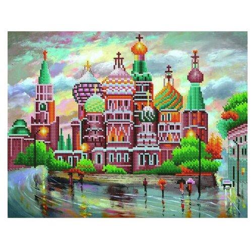 Купить Рыжий кот Набор алмазной вышивки Собор Василия Блаженного (ACD5003) 40х50см, Алмазная вышивка