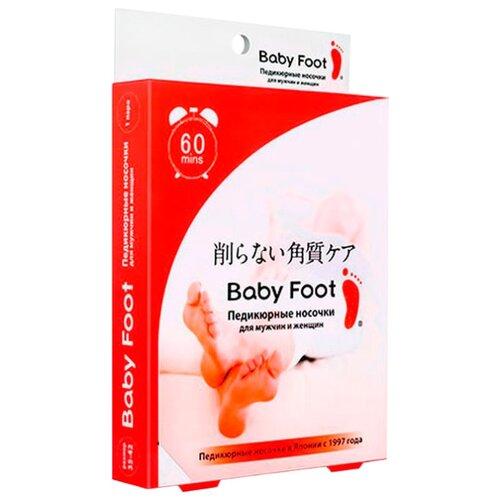 Фото - Baby Foot Педикюрные носочки для мужчин и женщин 35 мл пакет estelare foot peeling program маска отшелушивающая для ног педикюрные носочки 40 г