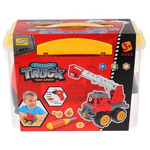 Купить Винтовой конструктор J&P Truck 2508C Пожарная машина, Конструкторы