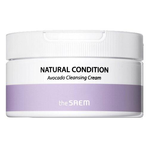 The Saem крем очищающий с авокадо Natural Condition Avocado Cleansing Cream Deep Clean, 300 мл