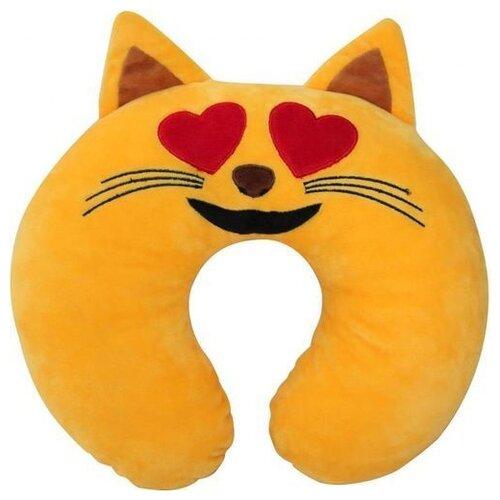 Подушка для шеи PSV Кто смайл, желтый