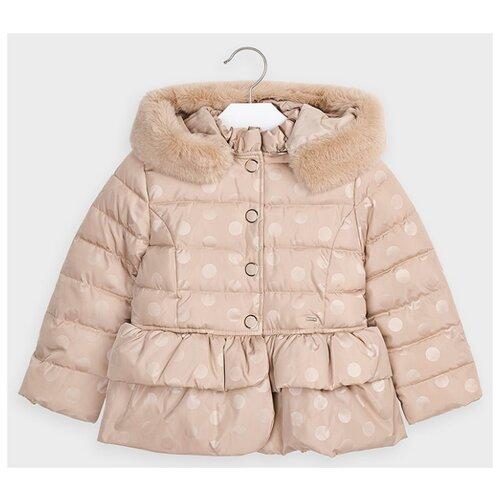 Купить Куртка Mayoral размер 128, 048 бежевый, Куртки и пуховики