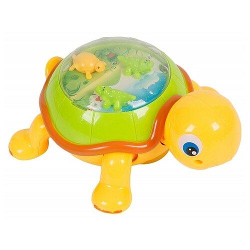 Купить Развивающая игрушка Nan Di Toys Музыкальная черепаха, зеленый/желтый, Развивающие игрушки