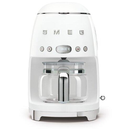 Кофеварка smeg DCF02 белый