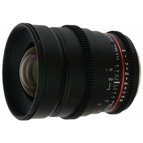 Фото - Объектив Samyang 24mm T1.5 ED AS UMC VDSLR Canon EF объектив samyang 50mm f 1 4 as umc canon ef
